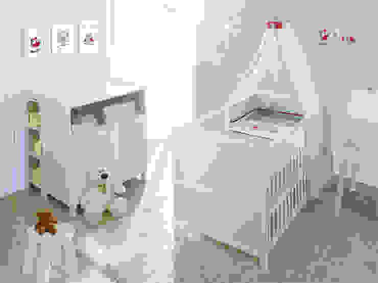 VINTAGE Pierwsze Meble Dziecka Komplet Vintage od Jedynak Babywelt Skandynawski