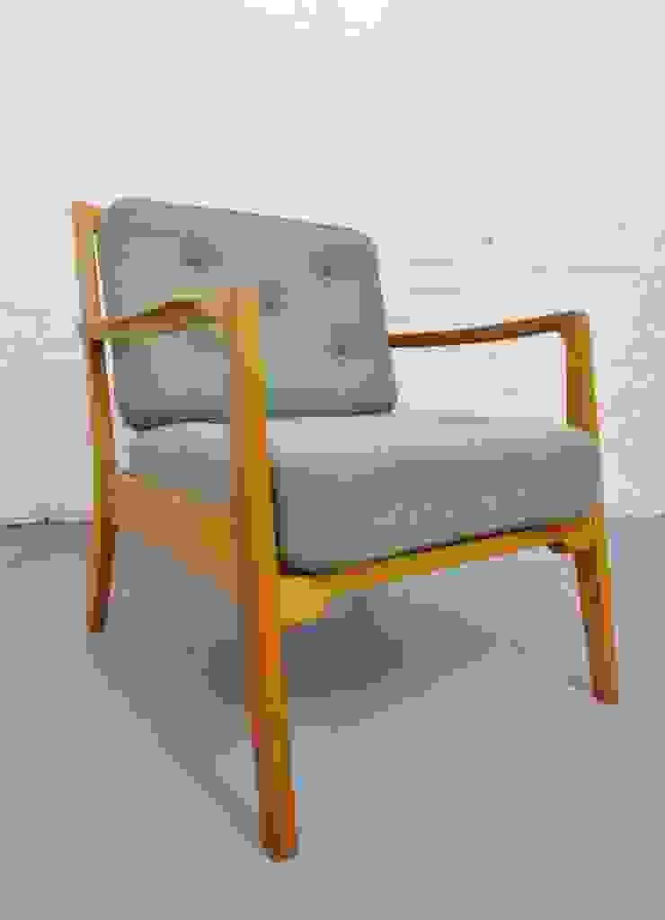 1950s Danish armchair with mint green cushions : scandinavian  by Archive Furniture , Scandinavian