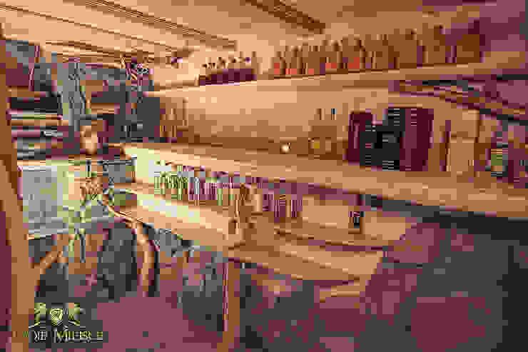Regały na alkohol, piwniczka Klasyczna piwnica win od Twoje Miejsce Klasyczny