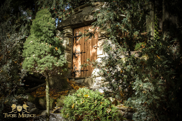 Wejście Do Piwniczki, Drzwi, Kamień Klasyczna piwnica win od Twoje Miejsce Klasyczny