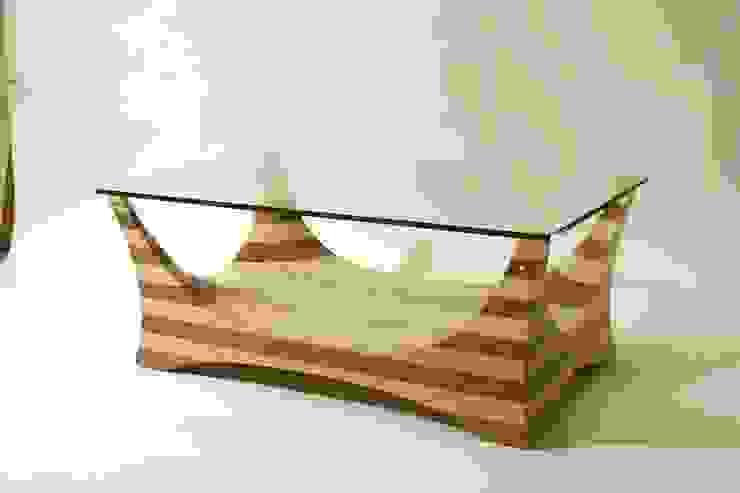 Flint 3 Coffee Table: modern  by Tom Aylwin, Modern