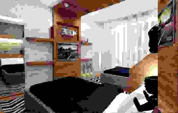 Genç Odası Modern Çocuk Odası GN İÇ MİMARLIK OFİSİ Modern
