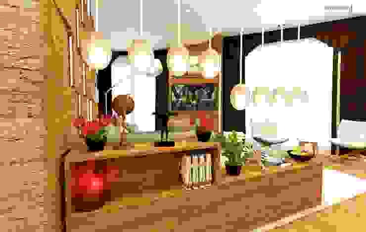 Oturma Gurubu Modern Oturma Odası GN İÇ MİMARLIK OFİSİ Modern
