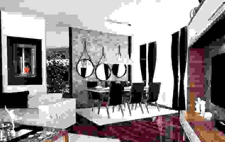 Modern dining room by GN İÇ MİMARLIK OFİSİ Modern