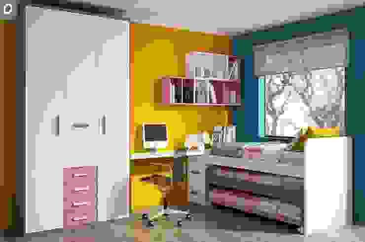 Dormitorio juvenil Tagetes de Mobihogar-2000 Moderno