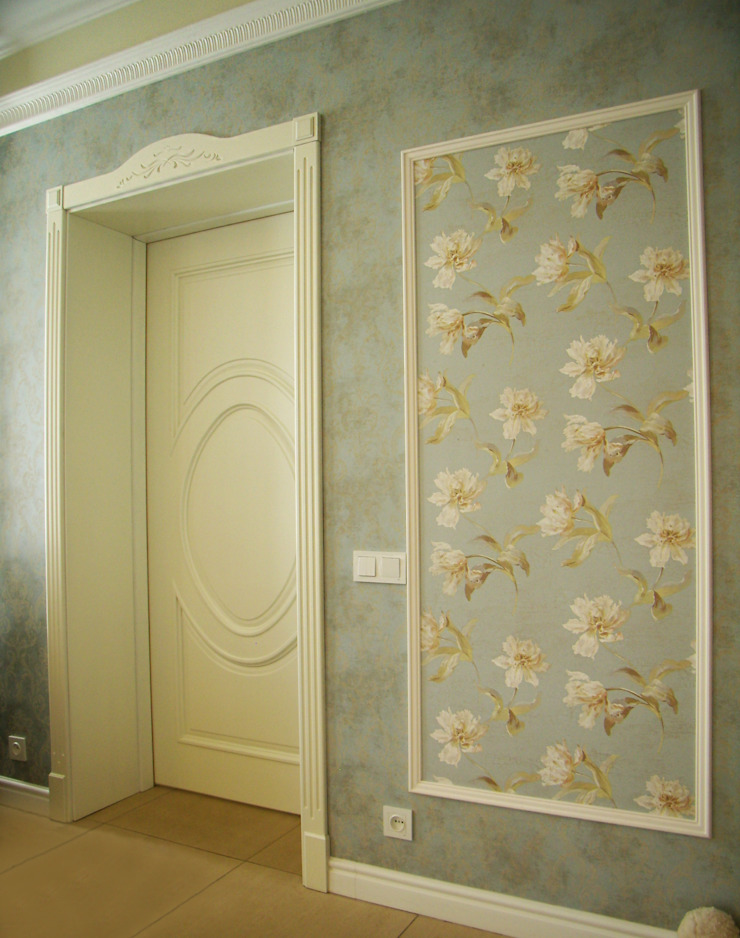 Cửa sổ & cửa ra vào phong cách chiết trung bởi дизайн-студия Олеси Середы Chiết trung