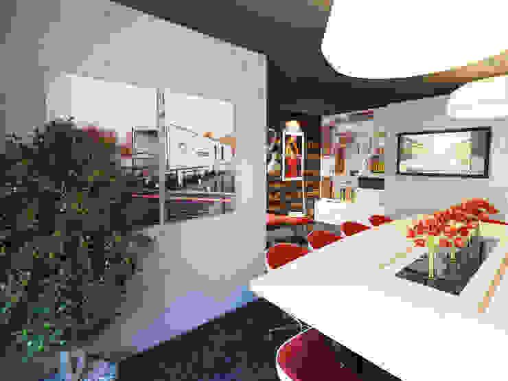 İNDEKSA Mimarlık İç Mimarlık İnşaat Taahüt Ltd.Şti. – İNDEKSA İÇ MİMARLIK: modern tarz , Modern