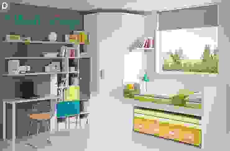 Dormitorio juvenil Azalea de Mobihogar-2000 Moderno