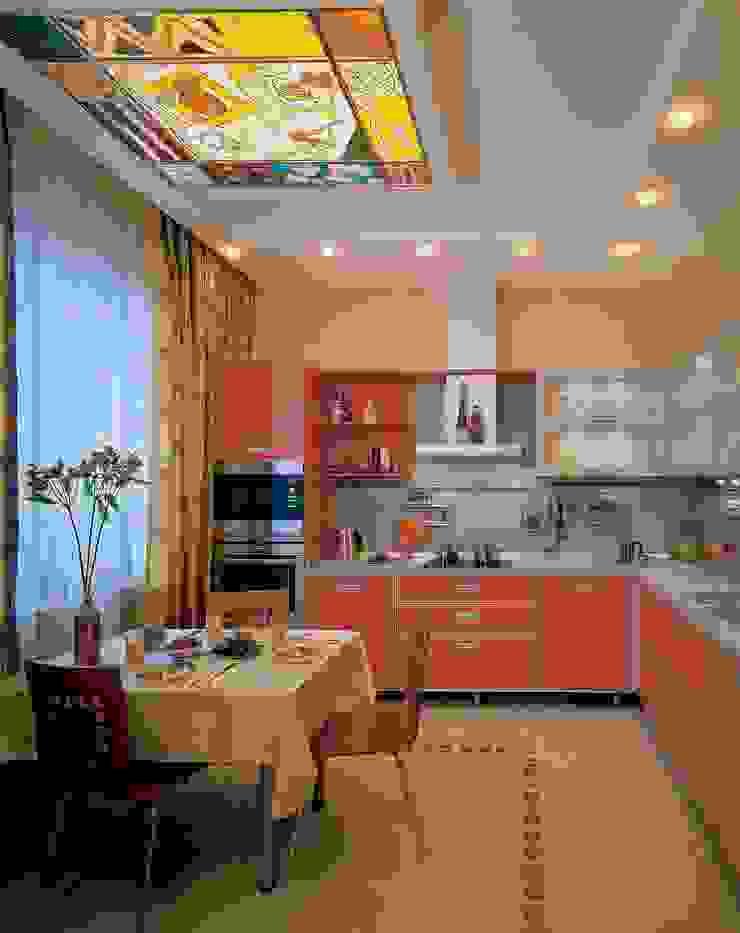 Интерьеры двухкомнатной квартиры Кухни в эклектичном стиле от дизайн студия 'LusiSarkis ' Эклектичный
