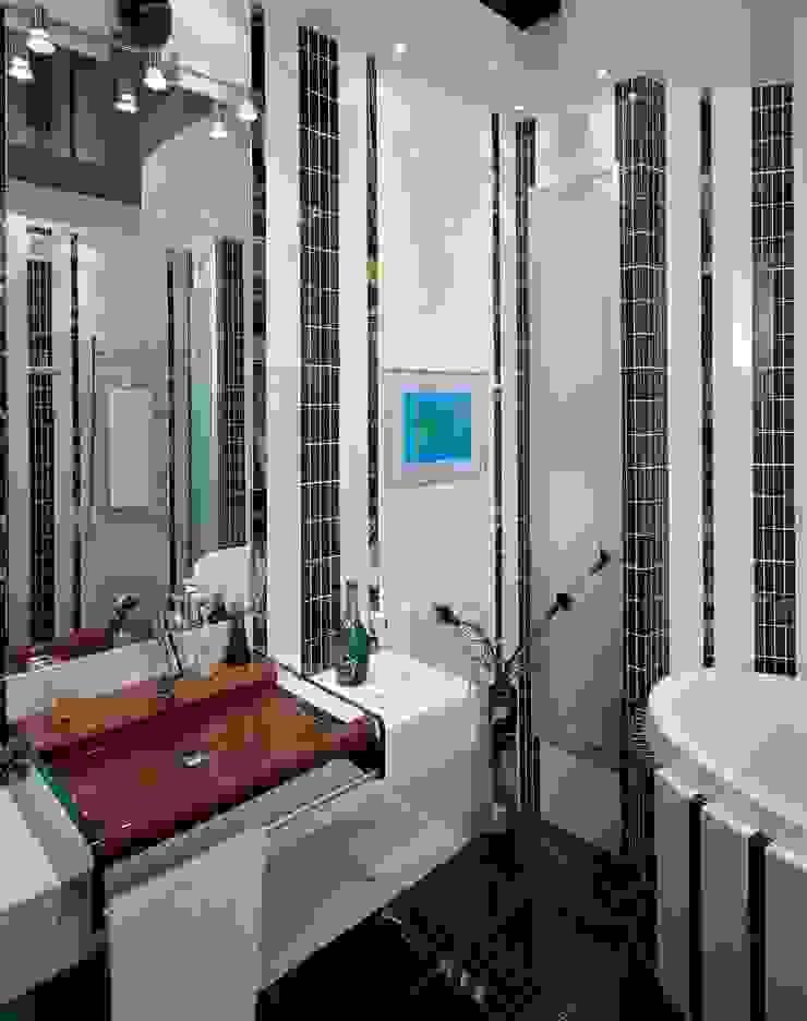 Интерьеры двухкомнатной квартиры Ванная комната в стиле модерн от дизайн студия 'LusiSarkis ' Модерн