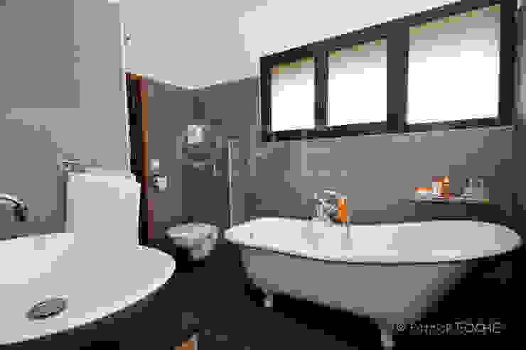 décoration, intérieur, mise en scène, ambiance patrick eoche Photographie d'architecture Salle de bain moderne