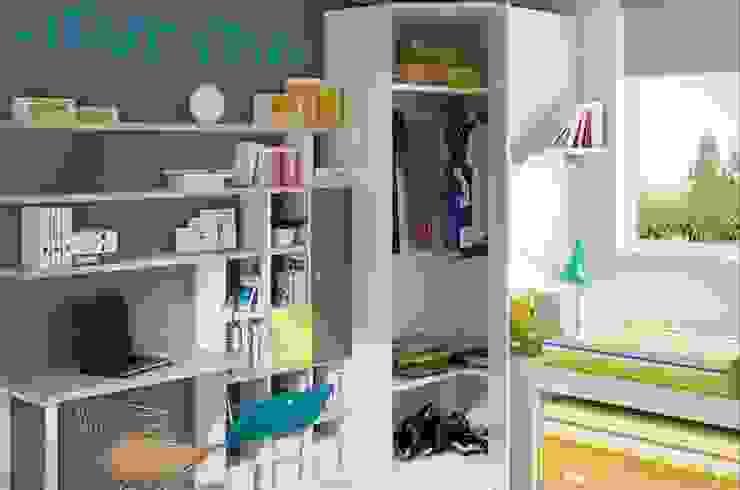Dormitorio juvenil Azalea (Detalle-2) de Mobihogar-2000 Moderno