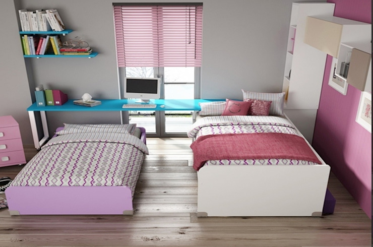 Dormitorio juvenil Sicilia (Detalle-3) de Mobihogar-2000 Moderno