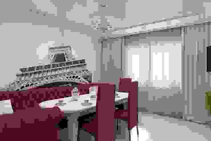 Дизайн кухни-гостиной. г. Буденовск Гостиная в классическом стиле от Цунёв_Дизайн. Студия интерьерных решений. Классический