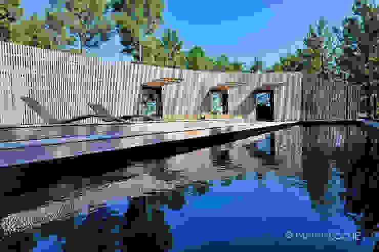 Architecture maisons patrick eoche Photographie d'architecture Piscine originale