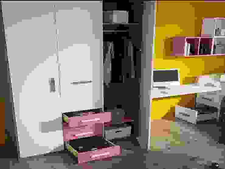 Dormitorio juvenil Tagetes (Detalle-2) de Mobihogar-2000 Moderno