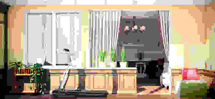 Olive tree Балконы и веранды в эклектичном стиле от Marina Sarkisyan Эклектичный