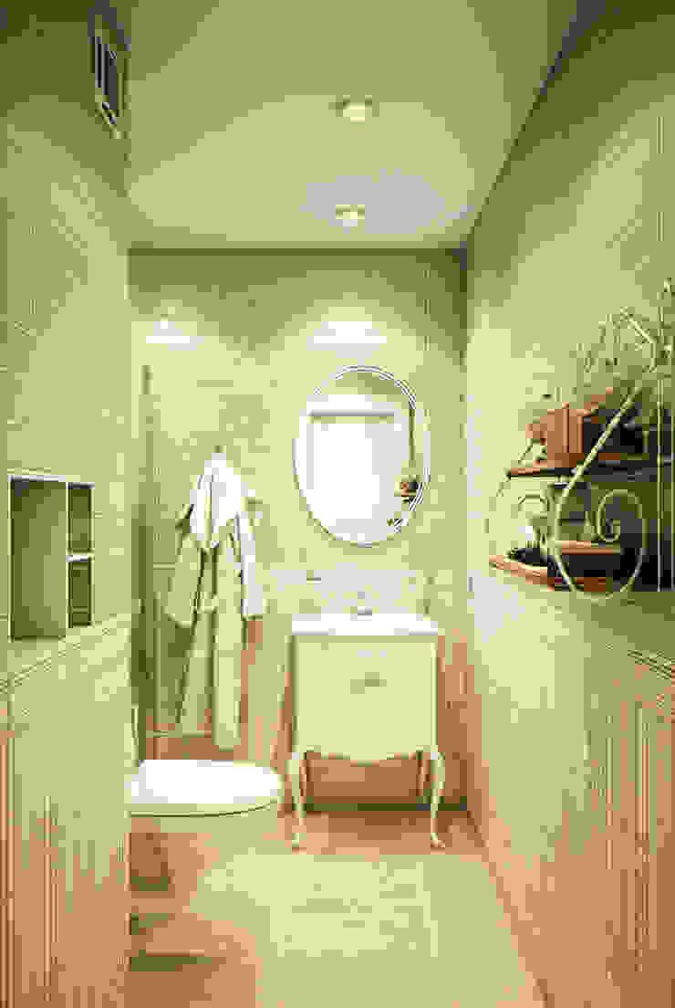 Olive tree Ванная комната в эклектичном стиле от Marina Sarkisyan Эклектичный