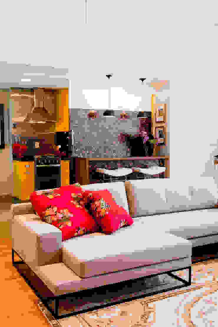 Asenne Arquitetura Modern Living Room
