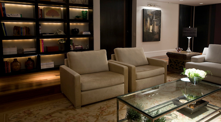 Asenne Arquitetura Living roomSofas & armchairs