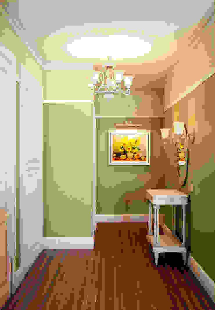 Olive tree Коридор, прихожая и лестница в эклектичном стиле от Marina Sarkisyan Эклектичный