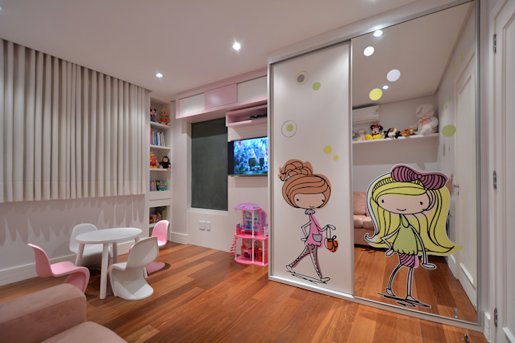 Nursery/kid's room by Stúdio Márcio Verza,