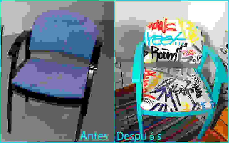 Silloncito recuperado Graffiti de Amarquimia