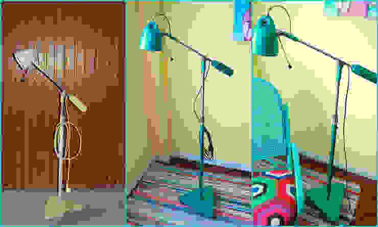 Lámpara clínica de los años 60 transformada de Amarquimia