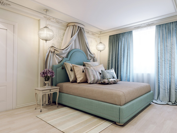 Classic style bedroom by Volkovs studio Classic