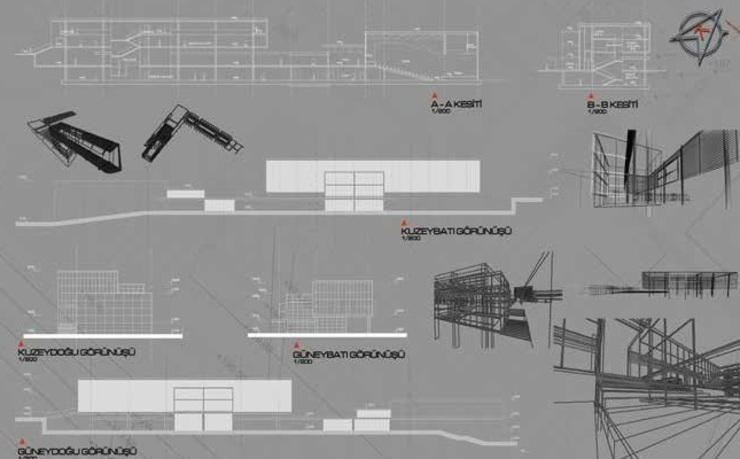 Plan and Sketches od ON TASARIM LTD. ŞTi.