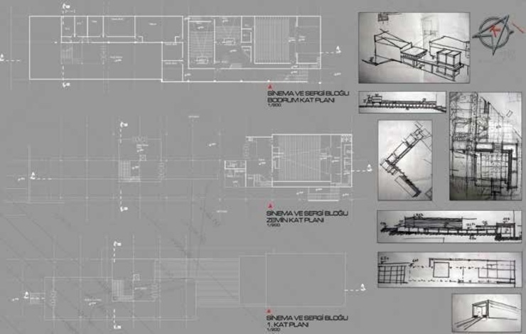 Plan and Sketches by ON TASARIM LTD. ŞTi.