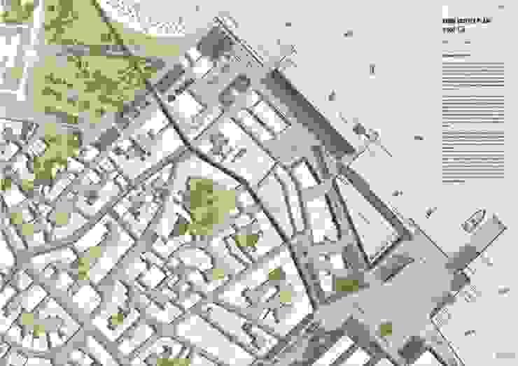 Partial site plan – the urban square ON TASARIM LTD. ŞTi.