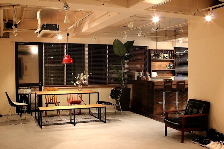 Tokyo - Office Interior Design by Yunhee Choe Eclectic Wood Wood effect