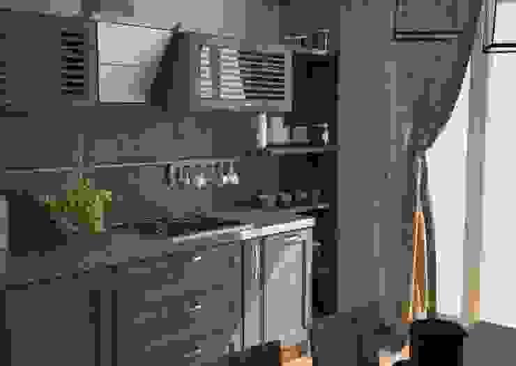 Industrialna kuchnia od DS Fresco Industrialny