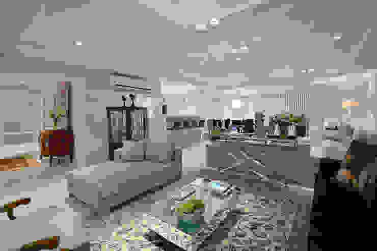 Living 2 Salas de estar modernas por Stúdio Márcio Verza Moderno