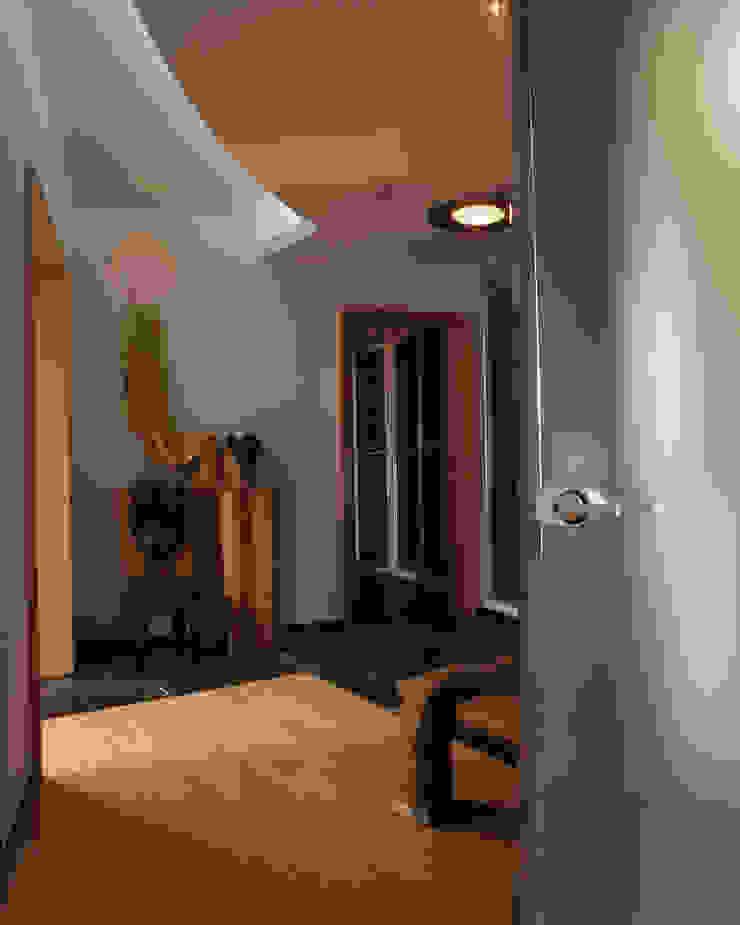 Квартира 2002 в Петербурге Коридор, прихожая и лестница в модерн стиле от Format A5 Fontanka Модерн