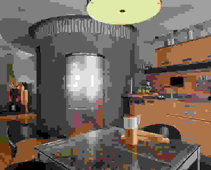 Квартира 2002 в Петербурге Кухня в стиле модерн от Format A5 Fontanka Модерн