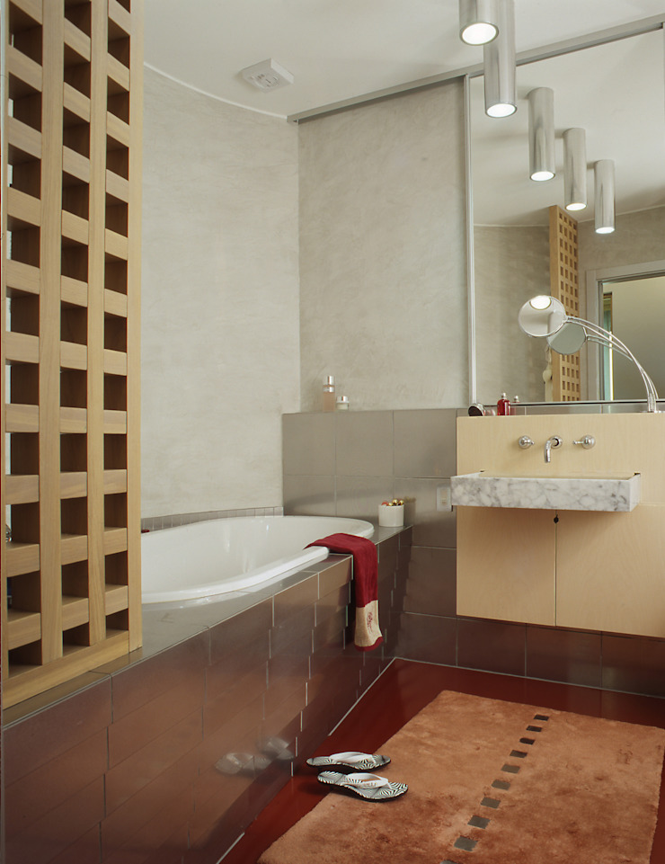 Квартира 2002 в Петербурге Ванная комната в стиле модерн от Format A5 Fontanka Модерн