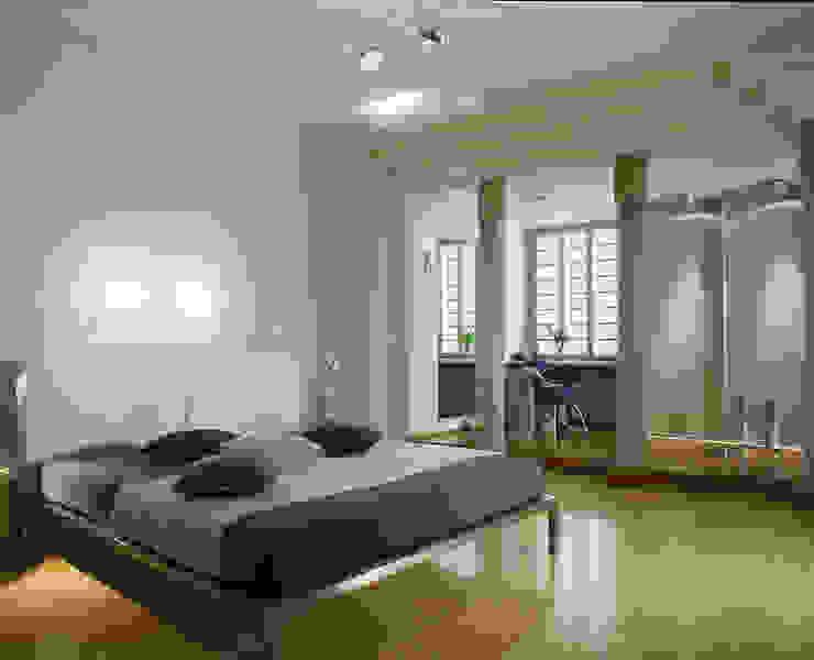 Квартира 2002 в Петербурге Спальня в стиле модерн от Format A5 Fontanka Модерн