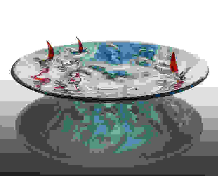 Ekskluzywne patery i misy szklane – fusing od TransLight Sp. z o.o. Klasyczny