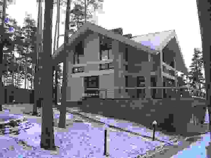 Дом в Сосново Зимний сад в стиле модерн от Format A5 Fontanka Модерн