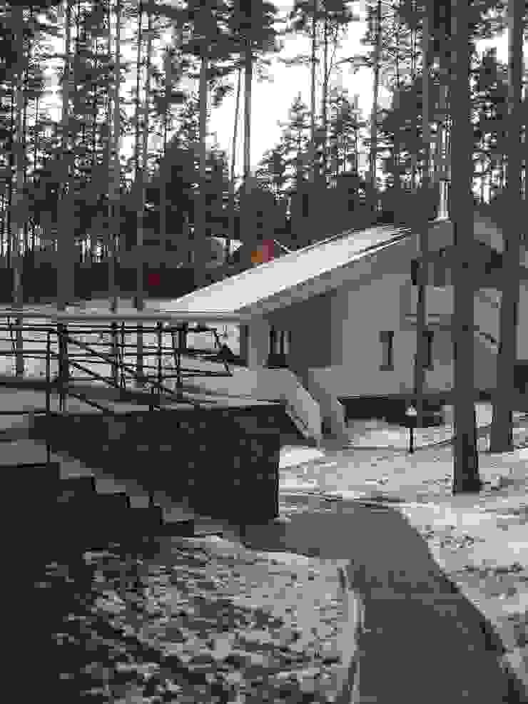 Дом в Сосново Дома в стиле модерн от Format A5 Fontanka Модерн