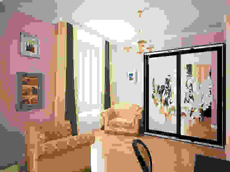 Шик Спальня в эклектичном стиле от Дизайн студия Александра Скирды ВЕРСАЛЬПРОЕКТ Эклектичный