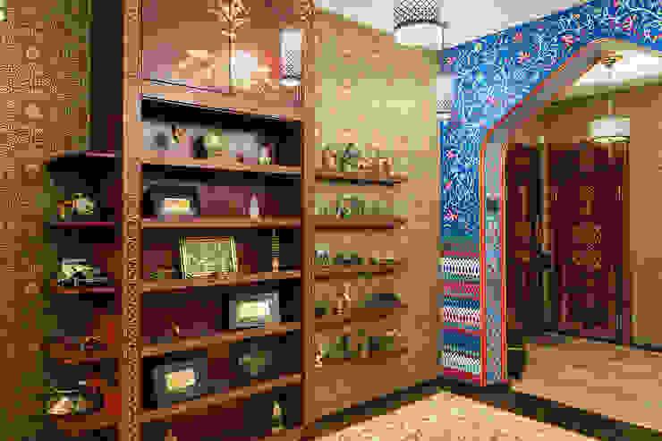 Квартира Коридор, прихожая и лестница в эклектичном стиле от Postformula Эклектичный