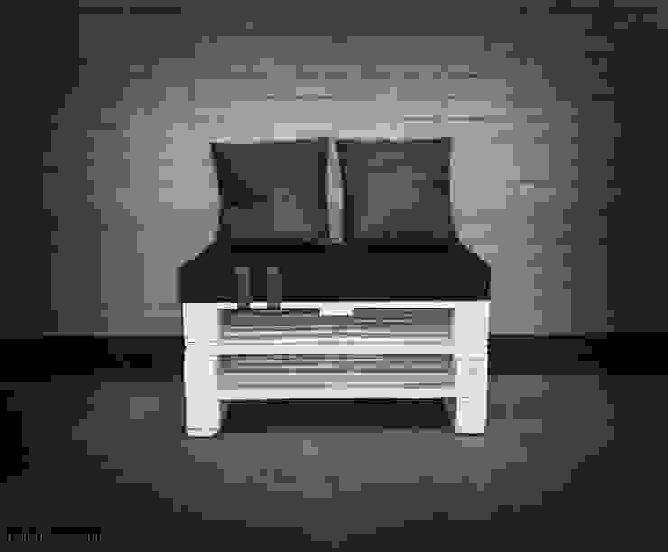 Siedzisko z palet od Palletideas Klasyczny