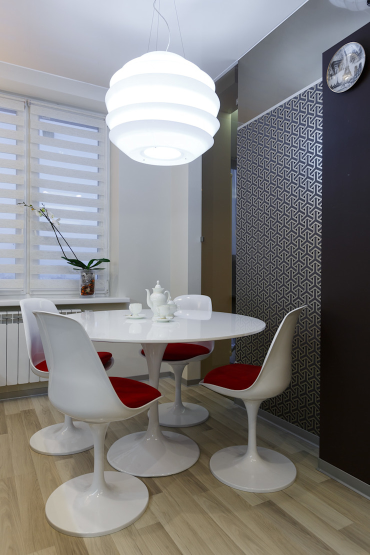 Кухня-столовая (DZ)M Интеллектуальный Дизайн Столовая комнатаСтолы