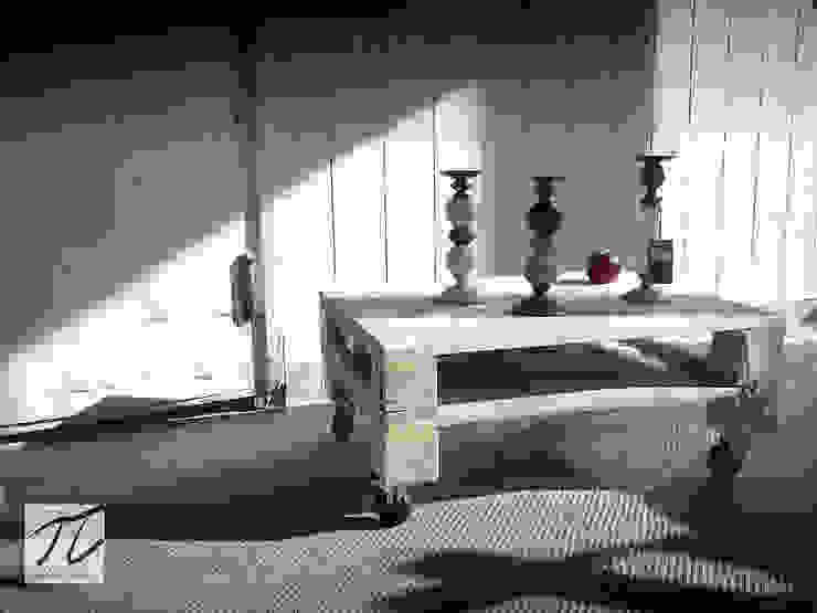 Stolik pobielany od Palletideas Industrialny