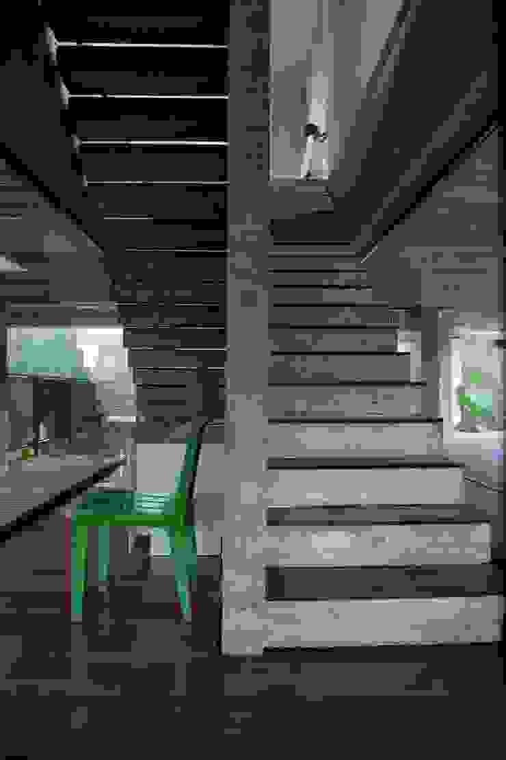Casa | LM | Corredores, halls e escadas modernos por Marcos Bertoldi Moderno