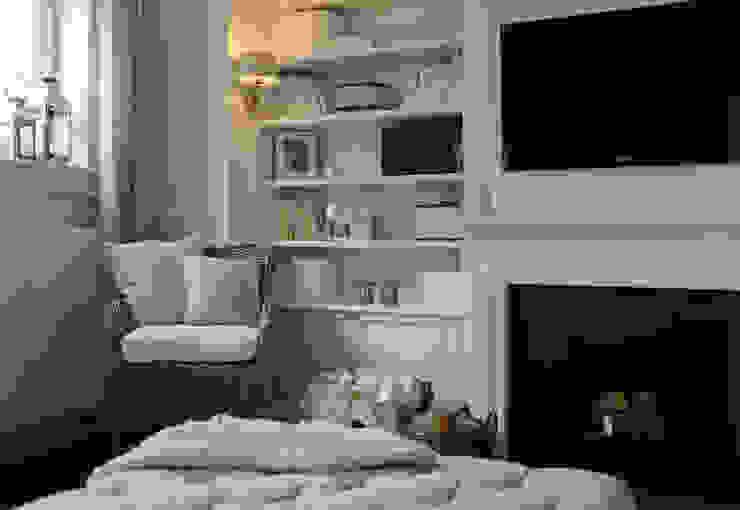 Mieszkanie w stylu New England: styl , w kategorii Salon zaprojektowany przez Studio Inaczej,Klasyczny