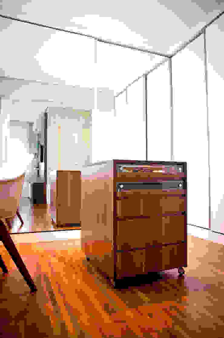 Apartamento Petrópolis – Porto Alegre por Joana & Manoela Arquitetura Moderno